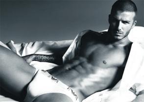 David Beckham's iconic Armani ad
