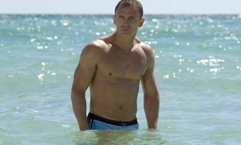 There have been hints that pecs were on the brink of a comeback ever since 2006, when Daniel Craig emerged from the sea in Casino Royale wearing tiny, powder-blue trunks, showing off a chest like a whisky barrel and shoulders that could pull a cart.
