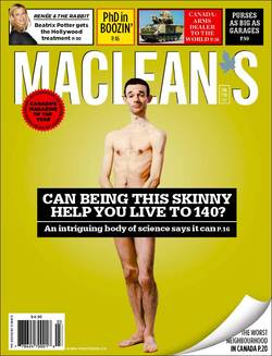Michael Rae, a Canadian living in the U.S., is a skinny poster child for Calorie Restriction, an approach to eating based on a body of evidence indicating that severely cutting calories increases overall health and longevity.