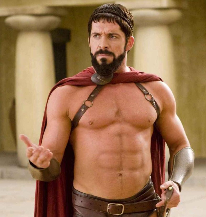 фото со спартанцами задумывались