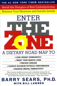 "The Zone Diet, the topic of the bestselling book ""Enter the Zone,"" bases all of its health claims on the premise of a diet plan comprised of 30 percent protein, 30percent fat and 40 percent carbohydrates."