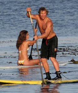 Stand Up Paddle Boarding has become popular as a cross training exercise for professional athletes (Lance Armstrong) and core fitness work out for all (incl. celebrities such as Tom Hanks, Matthew McConaughey, Jennifer Aniston and Pierce Brosnan)