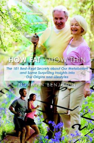 The new book shows that the key to reducing obesity and stress, while maximizing energy, health and longevity potential, is better understanding our own metabolism, which therefore leads to eating and exercising properly. How Fat--How Thin debunks many of the popular myths and misguided beliefs about health, diet and exercise.