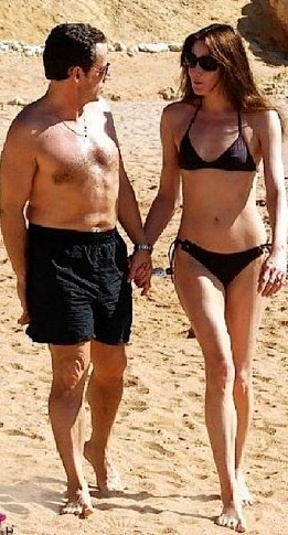 Under the influence of his wife, a former supermodel-turned-singer 13 years his junior, Mr Sarkozy, 54, has been following a gruelling self-improvement regime and is said to have lost 15 pounds. He has dropped favourite snacks like chocolate and his exercise and diet is closely monitored by the first lady's personal trainer.